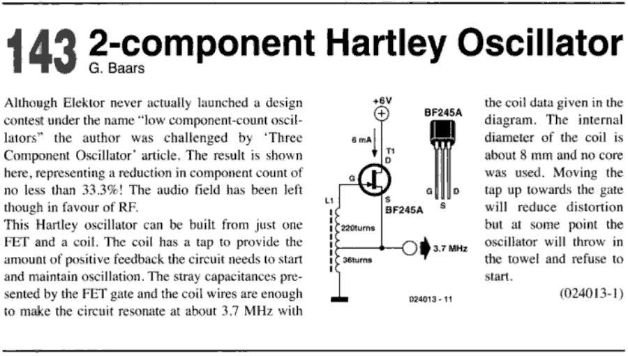 how hartley oscillator works